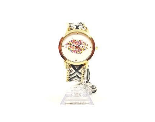 montre fantaisie bouche bracelet brésilien nylon wavre belgique tendance bijoux