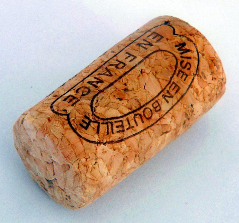 Bouchon de vin en liège