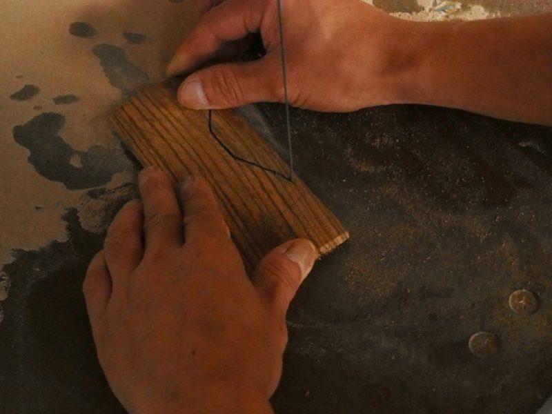 découpage bois noeud papillon sisswy