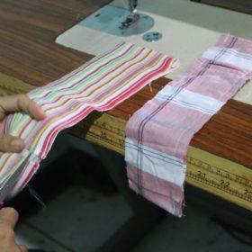fabrication des sacs à pailles réutilisables en bambou Sisswy