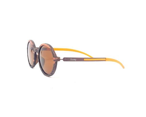 diane lunettes ébène verres bruns coté