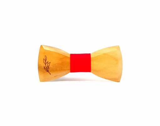ambae noeud papillon femmes bois teck rouge